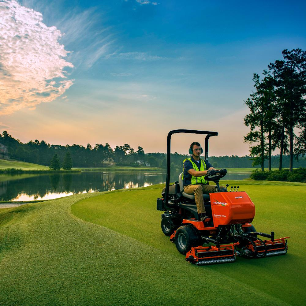 Greens King Iv Plus with Power Steering