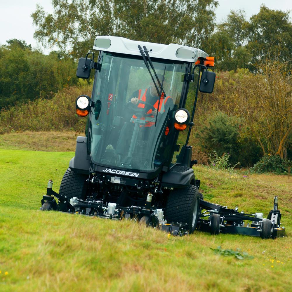 Jacobsen Mowers HR600 Tilt Sensor Technology