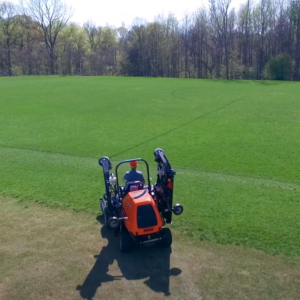 Jacobsen HR700 wide area rotary mower